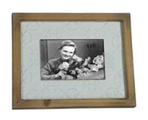 Antique brown solid wood photo picture poster frame