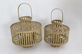Handmade Bamboo Woven Wind Lamps