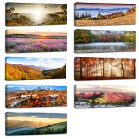 Single Panel Canvas Prints Wall Art